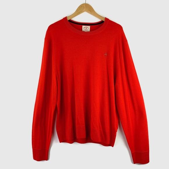 Brooks Brothers Other - Brooks Brothers Red Fleece Merino Wool Sweater XXL